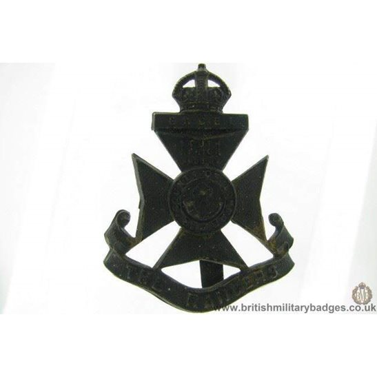 A1G/77 - 12th Battalion (The Rangers) London Regiment Cap Badge