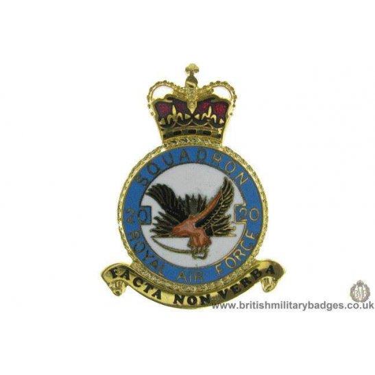 K1X/03 - 20 Squadron RAF Royal Air Force PLAQUE Badge