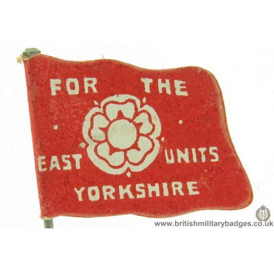 additional image for K1B/39 - WW1 Soldiers' Hospital Flag Day Fundraising Pin Badge