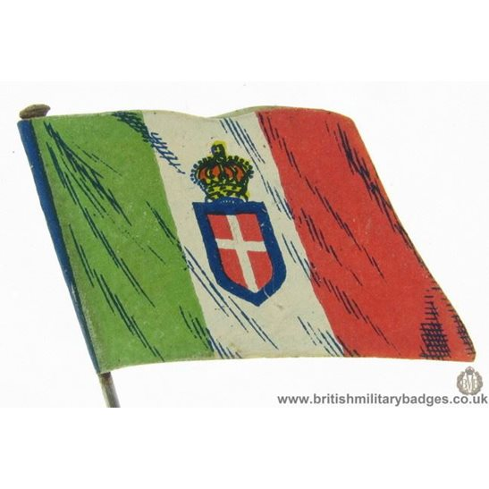 K1B/41 - WW1 Help Italy, Italian Flag Day Fundraising Pin Badge
