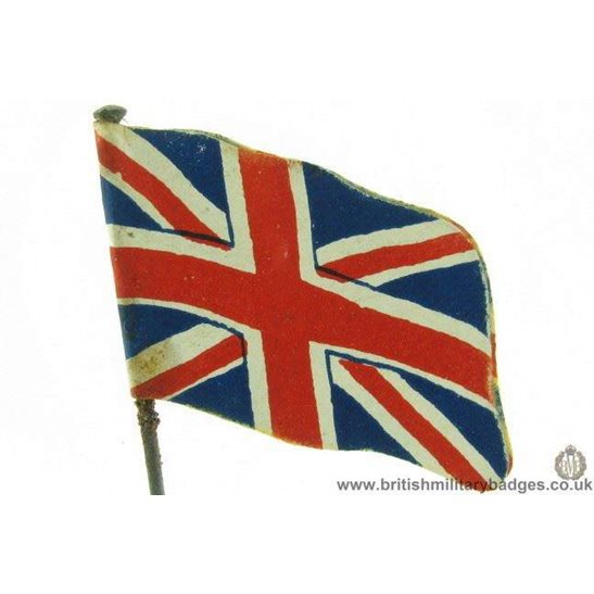 K1B/81 - WW1 British Union Jack Flag Day Fundraising Pin Badge