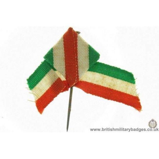 K1B/91 - WW1 Help Italy, Italian Flag Day Fundraising Pin Badge