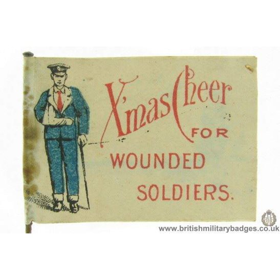 K1B/94 - WW1 Woolwich Hospitals Flag Day Fund Pin Badge