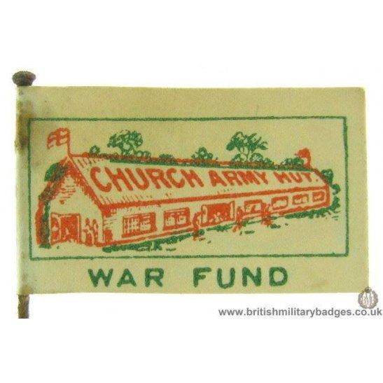 K1C/37 - WW1 Church Army Hut War Fund Fundraising Pin Badge