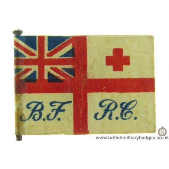 K1C/56 - WW1 Royal Navy Red Cross Fund Flag Day Pin Badge