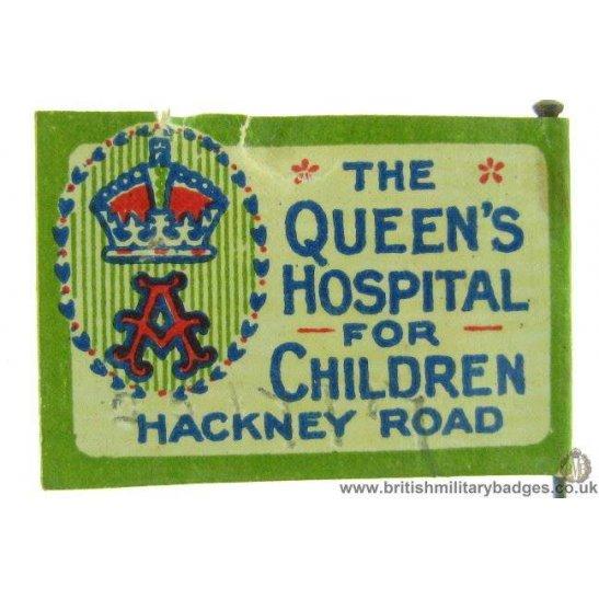 K1C/81 - Queens Hospital for Children Hackney Road Pin Badge