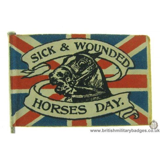 additional image for K1D/02 - WW1 Liverpool Belgian Day 5th December 1914 Flag Badge