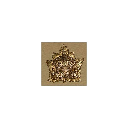 AA09/001 - Canadian Expeditionary Force Sweetheart Brooch