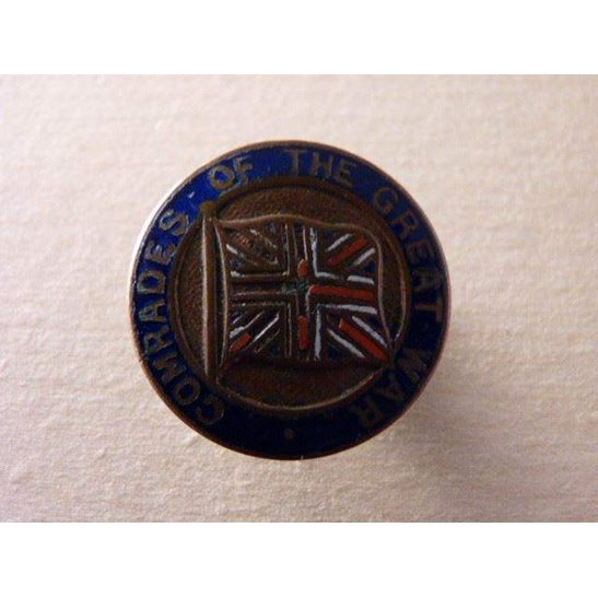SS09/002 - Comrades of the Great War Enamel Lapel Badge