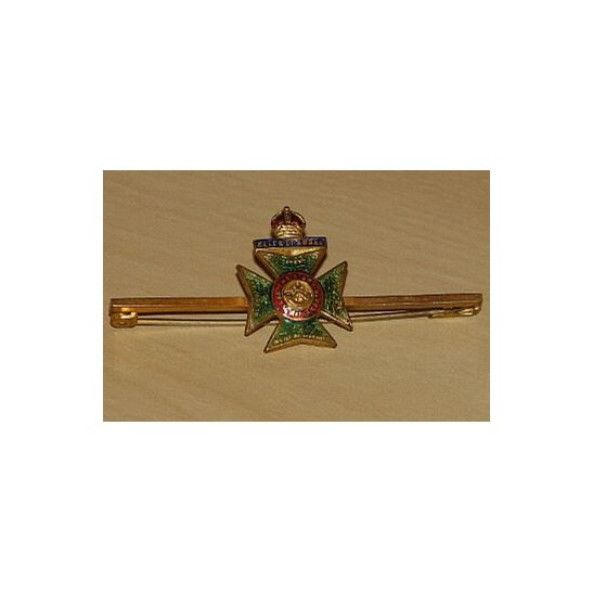 AA09/019 -The Kings Royal Rifle Corps Regiment Sweetheart Brooch