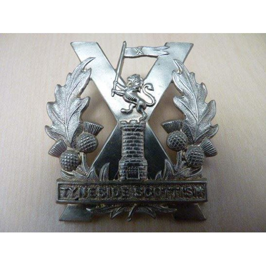 A55/014 - The Tyneside Scottish Regiment Cap Badge