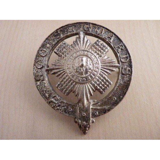 A55/032 - Scots Guards Regiment Pipers Cap Badge Cast Version