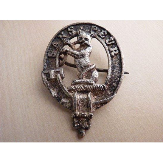 A55/039 - 5th Seaforth Highlanders Sergeants Cap Badge