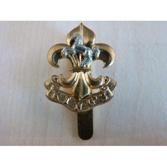 I55/035 - The King's Regiment Cap Badge (Post-1952)