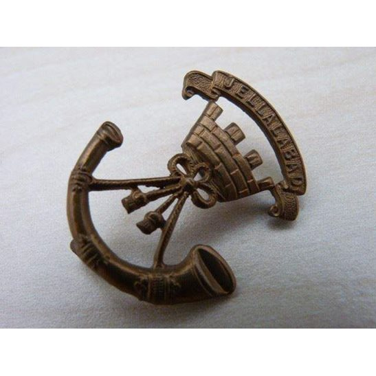 J55/026 - The Somerset Light Infantry Regiment Collar Badge