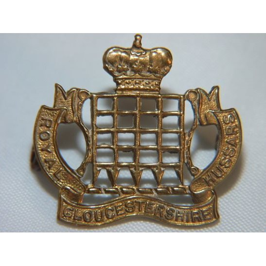 L55/200 - Royal Gloucestershire Hussars Regiment Collar Badge