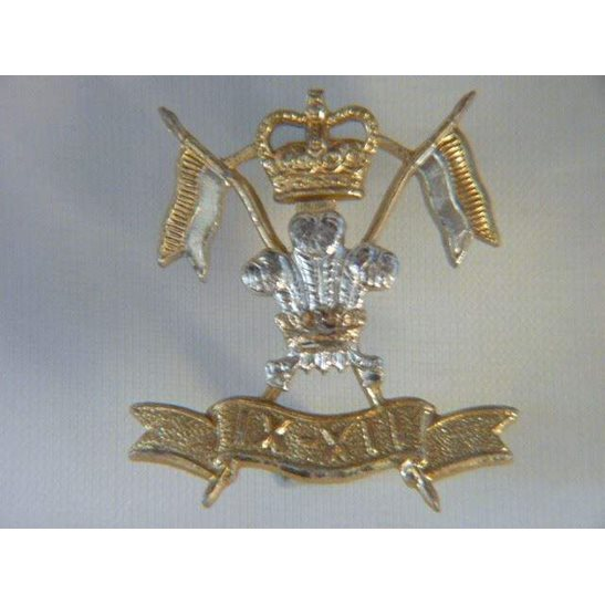 L55/322 - 9th / 12th Lancers Regiment Staybrite Collar Badge