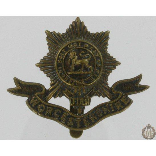 1A/012 - Worcestershire Regiment Cap Badge