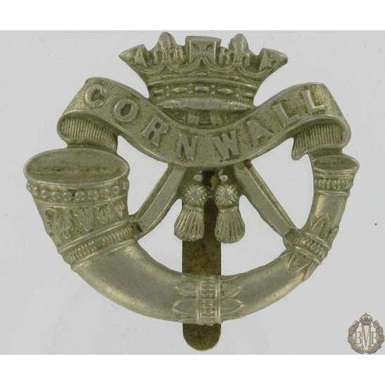 1A/017 - The Duke of Cornwalls Light Infantry Cap Badge - DCLI
