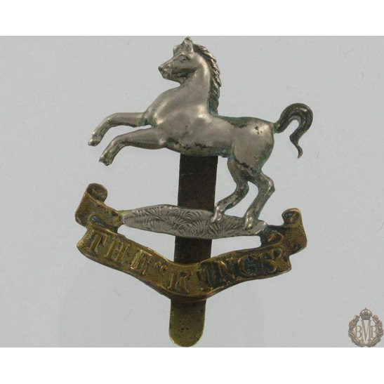 1A/031 - The King's Liverpool Regiment Cap Badge - Kings