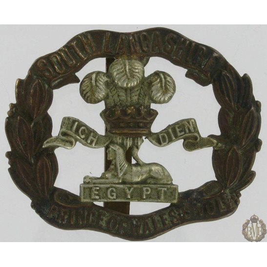 1A/058 - South Lancashire Regiment Cap Badge
