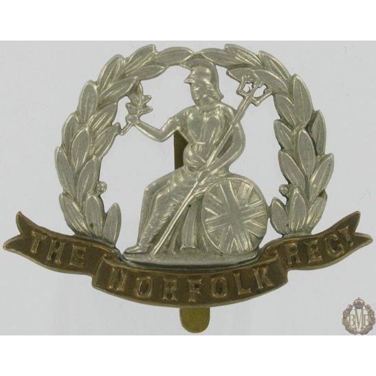 1A/063 - Royal Norfolk Regiment Cap Badge