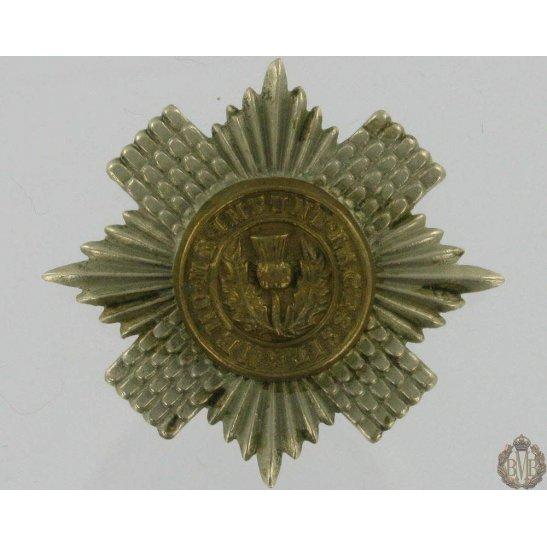 1A/080 - Scots / Scottish Guards Regiment Bi-Metal Cap Badge