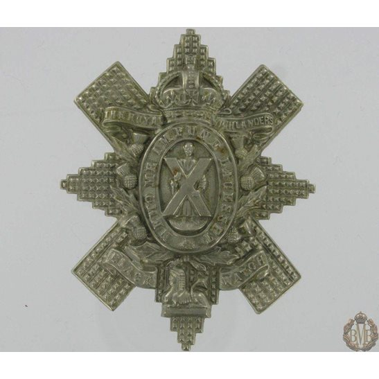 "1A/081 - Royal Highland ""Black Watch"" Regiment Cap Badge"