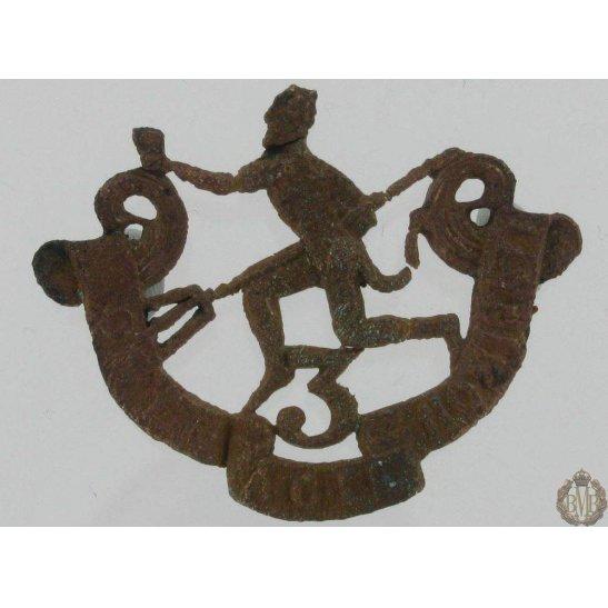 1A/094 - 3rd Winnipeg Rifles Regiment Cap Badge