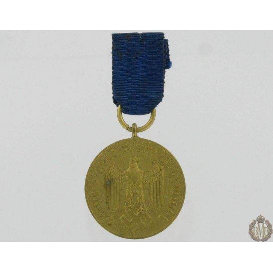 L55/342 - WW2 German 12 Years Service Medal