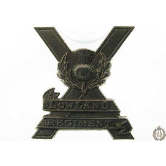 "additional image for 1C/001 - Royal East Kent ""The Buffs"" Regiment Cap Badge"