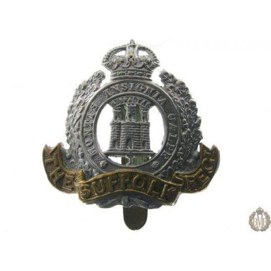 1B/009 - The Suffolk Regiment Cap Badge