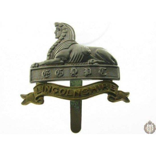 1B/020 - Lincolnshire Regiment Cap Badge - Lincoln