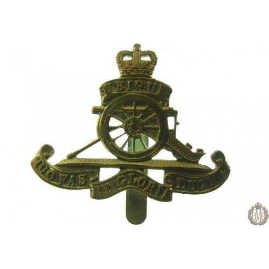 """1B/030 - Royal Artillery Regiment """"Beret Size"""" Cap Badge"""