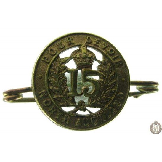 1B/050 - 15th North Auckland Regt. New Zealand Sweetheart Brooch