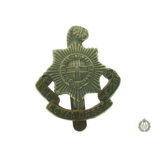 1C/010 - The Royal Sussex Regiment Cap Badge
