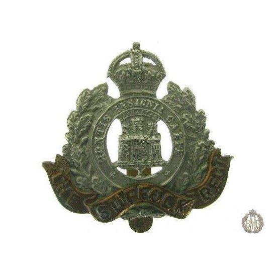 1C/012 - The Suffolk Regiment Cap Badge