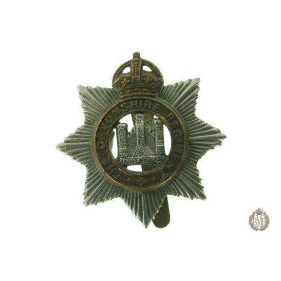 1C/015 - The Devonshire / Devon Regiment Cap Badge