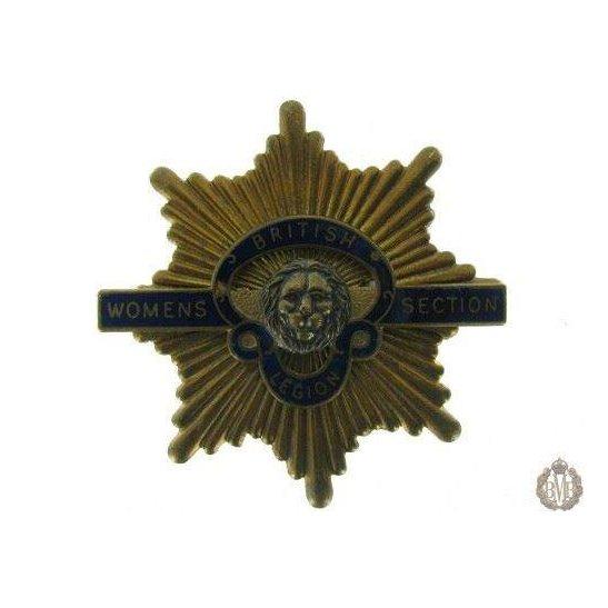 1C/024 - Women's Section Royal British Legion Cap Badge - RBL