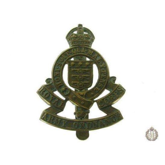 1C/030 - Royal Army Ordnance Corps RAOC Cap Badge
