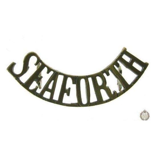 """additional image for 1E/001 - Sherwood Forresters """"Notts & Derby"""" Regt Shoulder Title"""