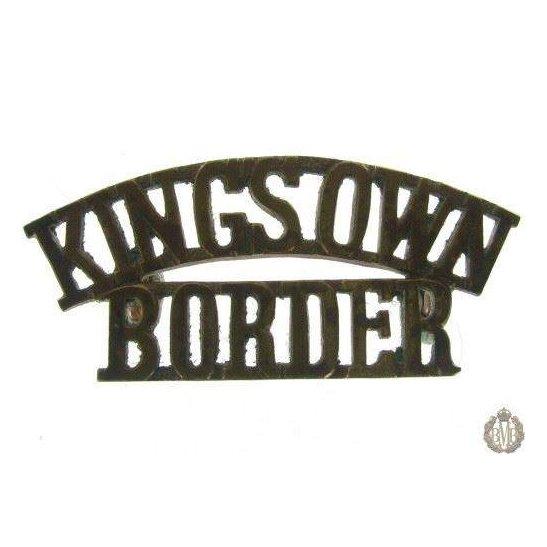 1E/002 - Kings Own Border Regiment Shoulder Title - King's