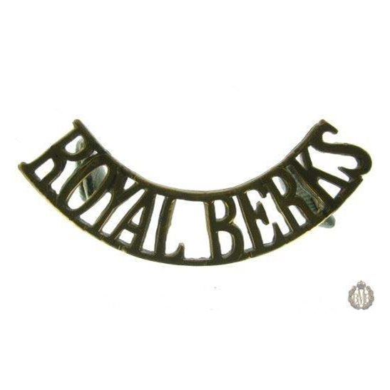 1E/006 - The Royal Berkshire Regiment Shoulder Title
