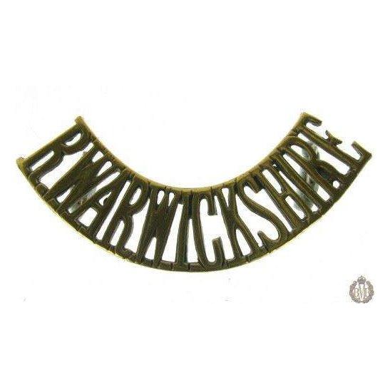 1E/008 - The Royal Warwickshire Regiment Shoulder Title