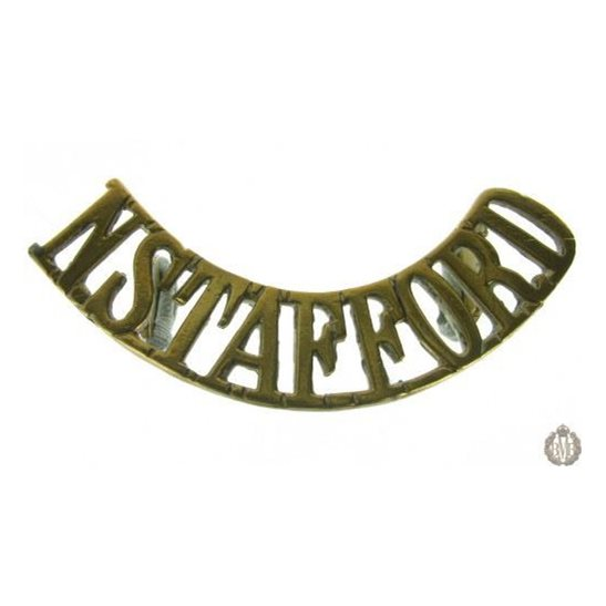 1E/009 - North Staffordshire Regiment Shoulder Title