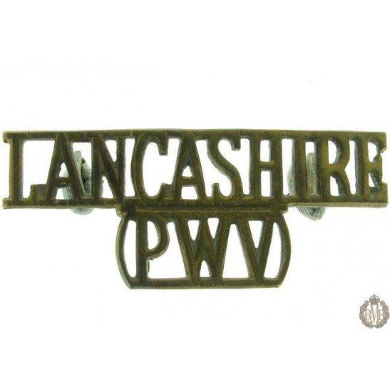 1F/005 - Lancashire Regiment PWV Shoulder Title