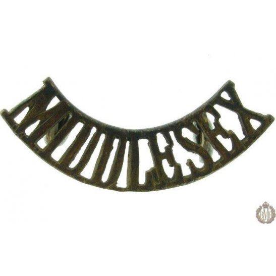 1F/006 - The Middlesex Regiment Shoulder Title