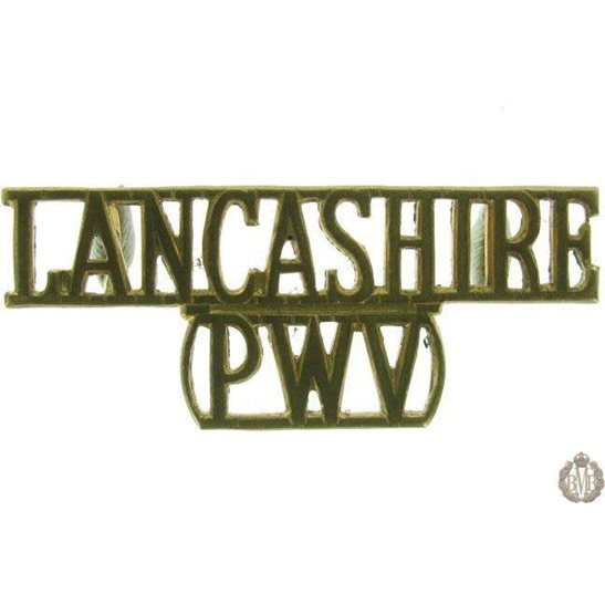 1F/009 - Lancashire Regiment PWV Shoulder Title