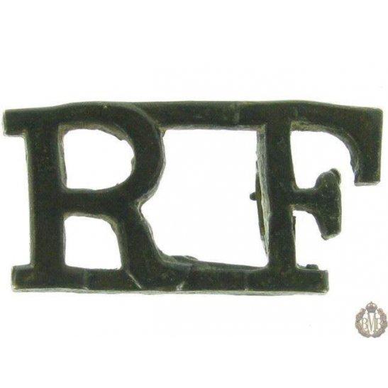 1F/019 - Royal London Fusiliers Regiment RF Shoulder Title