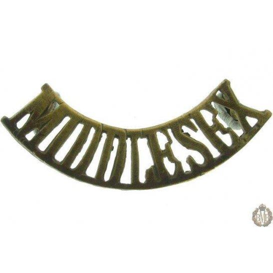 1F/038 - The Middlesex Regiment Shoulder Title
